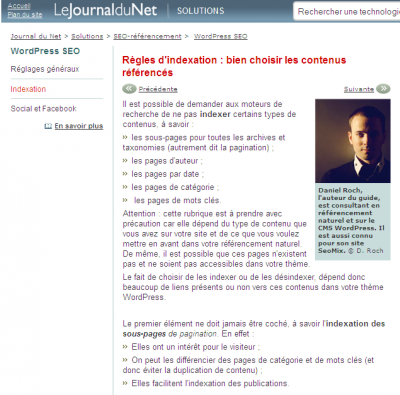 Extrait d'article du journal du net