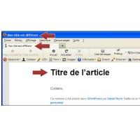 Optimisez la balise TITLE de votre thème WordPress